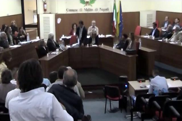 Melito consiglio comunale del 09-10-2015