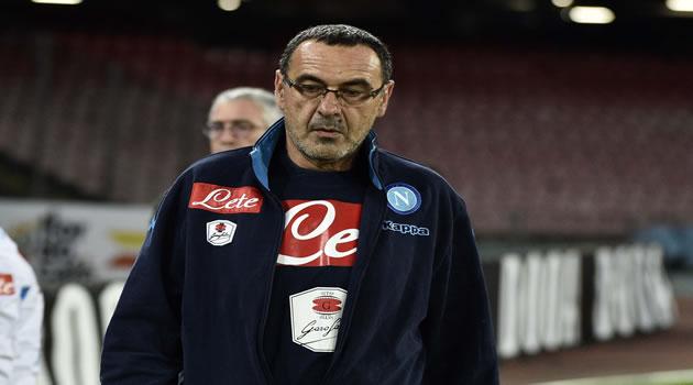 Maurizio Sarri - Napoli vs Palermo 28/10/2015