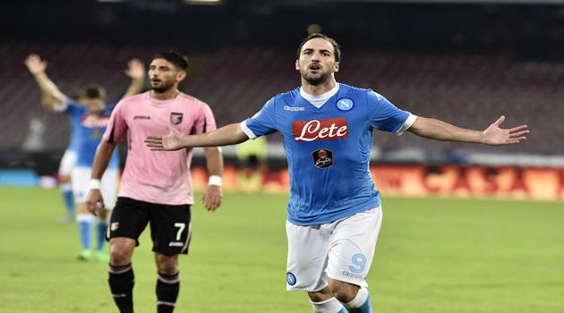 Calcio Napoli Gonzalo Higuain