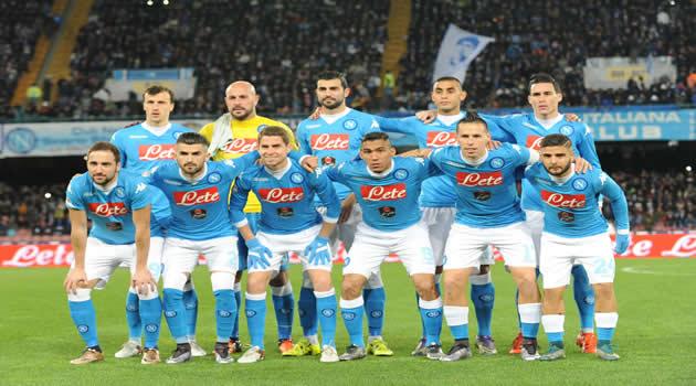 Napoli - Sassuolo - La formazione