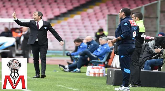 Napoli vs Empoli - Sarri - Giampaolo