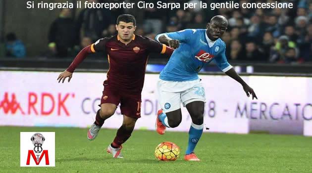 Napoli vs Roma - Koulibaly Iago