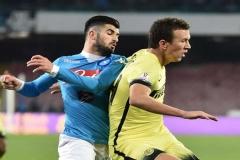 Coppa Italia - Napoli vs Inter - Hysaj