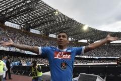 Napoli vs Fiorentina Allan