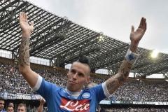 Napoli vs Fiorentina Hamsik