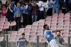 Napoli vs Fiorentina esultanza Insigne