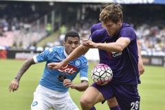 Napoli vs Fiorentina Allan Alonso