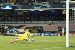 Napoli - Liverpool Insigne gol 03-10-18