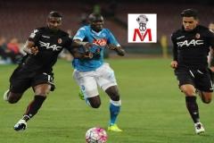 Napoli vs Bologna - Koulibaly in azione