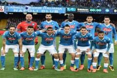 Napoli vs Genoa - la formazione