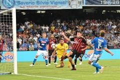 Napoli vs Milan 25-08-18 il gol di Mertens