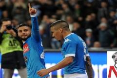 Napoli vs Milan - Insigne Allan