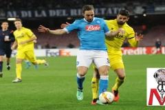 Napoli vs Villareal - Higuain