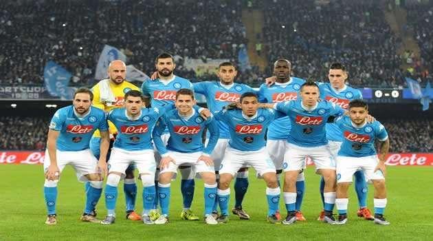 Napoli vs Inter - la squadra