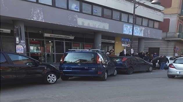 Melito tentativo di rapina al portavalori Unicredit