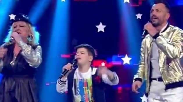 Emanuele a Standing Ovation