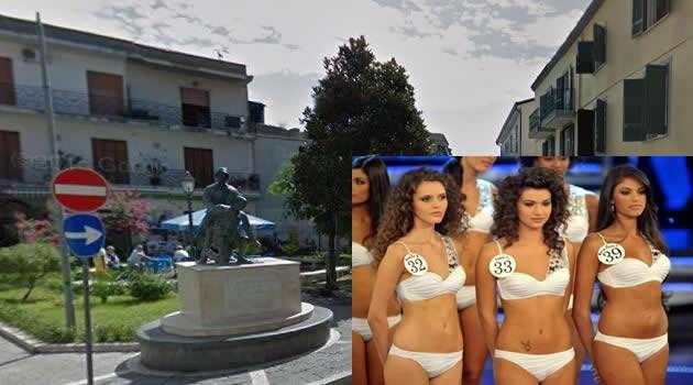 Miss Italia piazza Marconi Melito