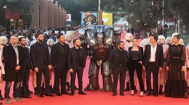 The Jackal - il cast alla festa del cinema a Roma
