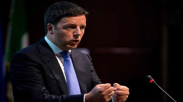 Giugliano - Matteo Renzi