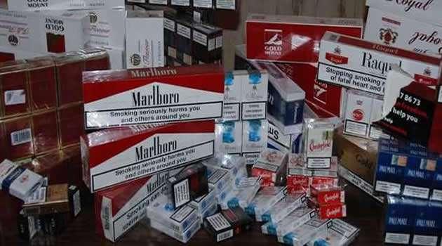 Melito - sigarette di contrabbando