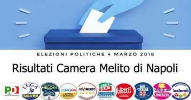 politiche marzo 2018 - risultati Camera Melito di Napoli