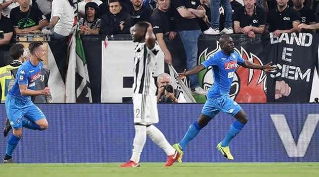 Juve vs Napoli - gol Koulibaly