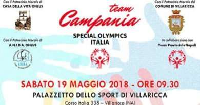 Villaricca - olimpiadi disabilità