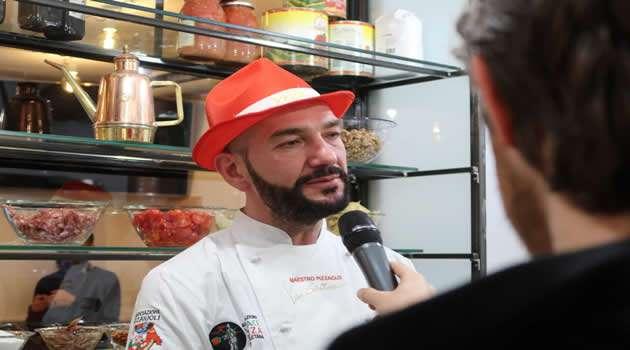 lo chef Salvatore Vesi
