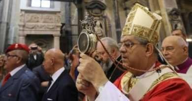 Napoli - Prodigio di San Gennaro 19-09-18