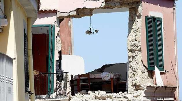 Ischia - terremoto danni