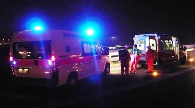 Mugnano - incidente mortale sulla circumvallazione esterna