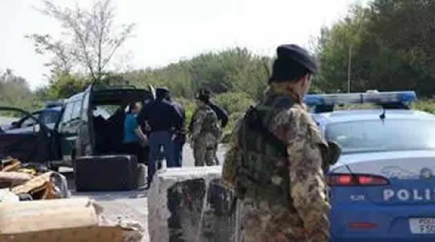 Crimini ambientali controlli polizia esercito