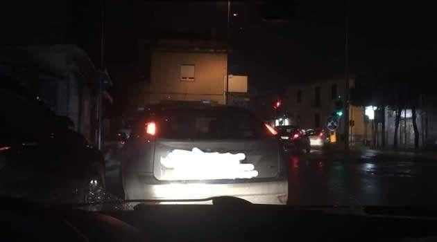 Melito - illuminazione pubblica che non funziona