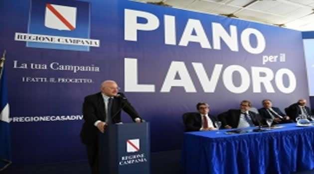 Regione Campania Piano Lavoro
