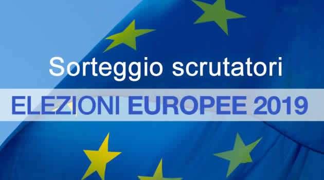 Elezioni Europee 2019 sorteggio scrutatori
