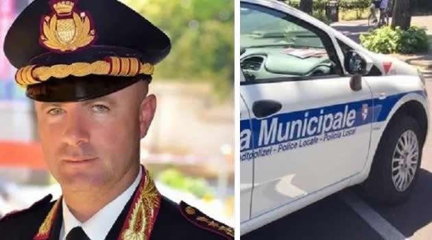 Comandante Piricelli vigili urbani Sant'Antimo