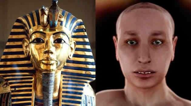 il vero volto di Tutankamon