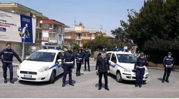 LA POLIZIA LOCALE EFFETTUA CONTROLLI A TAPPETO SU TUTTO IL TERRITORIO