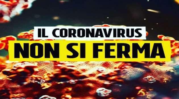 Il Coronavirus non si ferma
