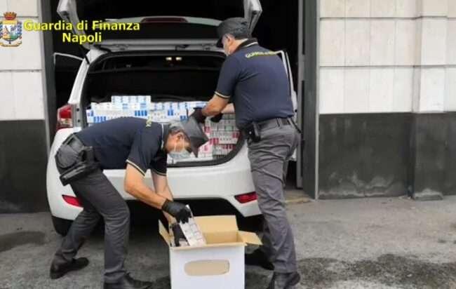 Marano sequestro sigarette di contrabbando