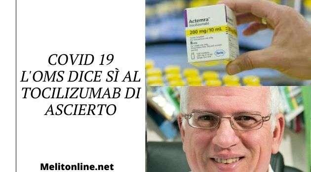 Campania, Covid 19. L'Oms definisce efficace la cura del Professor Ascierto